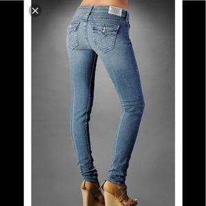True Religion Jodie Glitz & Glam Skinny Jeans